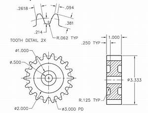 Tutorial - Making spur gear in AutoCAD? | GrabCAD Tutorials