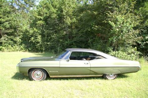 small engine service manuals 1968 pontiac bonneville electronic toll collection sell used 1968 pontiac bonneville grandpa s 28 000 org miles coupe no reserve in vancleave