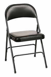Chaise Pliante Noire : chaise en acier pliante noire pas ch re landes ~ Teatrodelosmanantiales.com Idées de Décoration