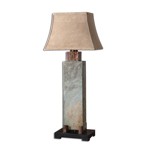 Uttermost 26308 Slate Tall Table Lamp  Atg Stores