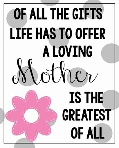 Mothers Quotes Printable Cards Mother Quote Happy