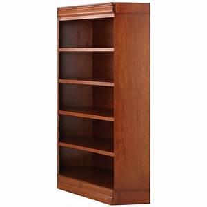 Home Decorators Collection 4-Shelf Corner Bookcase in
