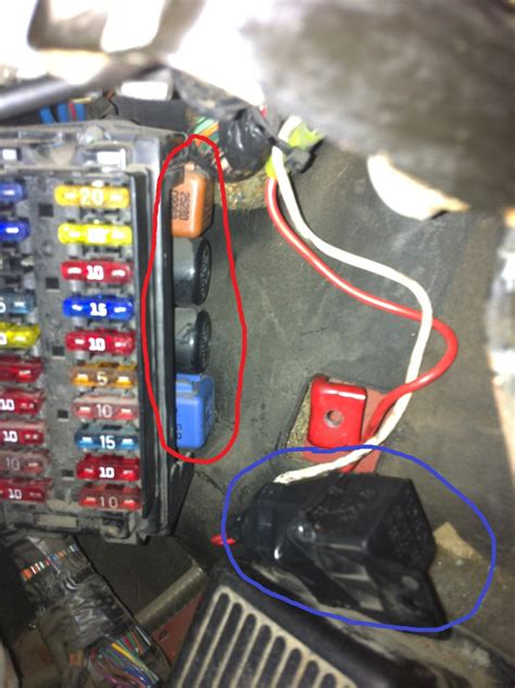 S14 Fuse Box On Side Of by Relay Question Zilvia Net Forums Nissan 240sx