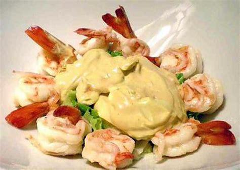 recette de cuisine avec des crevettes recette de cocktail de crevettes royales avec mayonnaise à