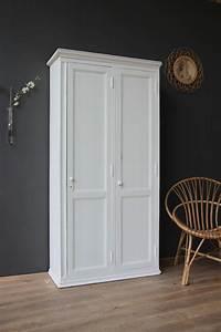 Petite Armoire Blanche : armoire double blanche petite belette cupboards furniture to make pinterest armoires ~ Teatrodelosmanantiales.com Idées de Décoration