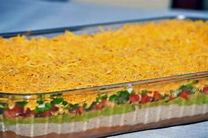 Super Easy 7 Layer Dip for your Super Bowl Party