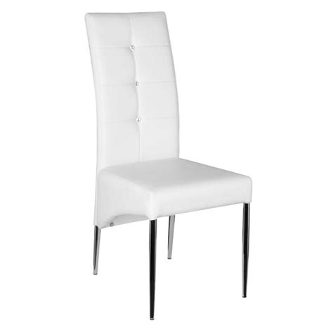 furniture dining room italian white leather dining