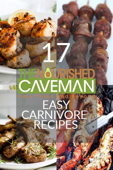 easy carnivore recipes  nourished caveman