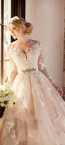 stunning winter wedding dresses belle the magazine With dresses for fall weddings
