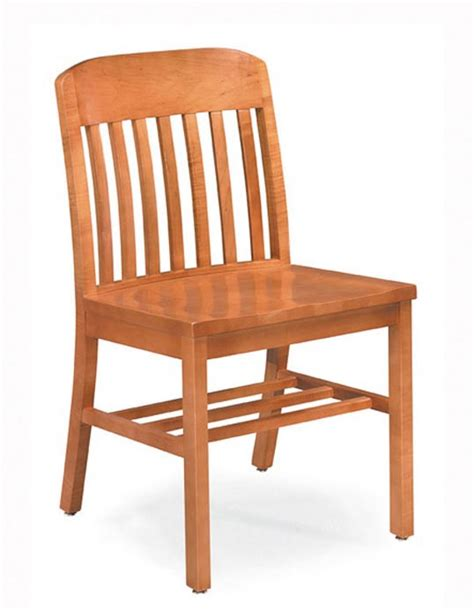 community emerson armless wooden chair 703a wooden