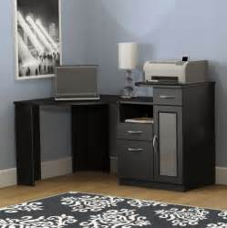 Black Corner Computer Desks For Home by Corner Computer Desks For Home Home Design Ideas