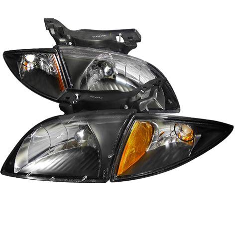Chevrolet Cavalier Black Euro Headlights With