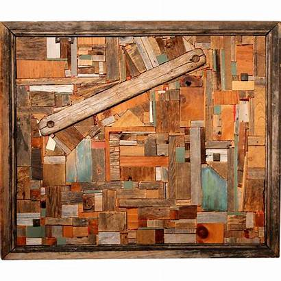 Collage Wood Reimers Jason Fly Antique