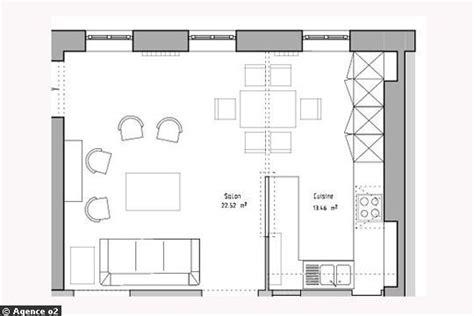 cuisine sur plan cuisine 10m2 plan