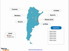 Free Argentina PowerPoint Map Free PowerPoint Templates