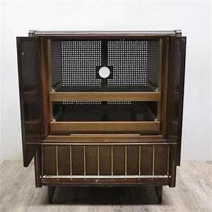 Meuble Tv Avec Etagere : meuble tv avec tag re ajustable 1950s en vente sur pamono ~ Teatrodelosmanantiales.com Idées de Décoration