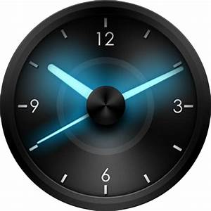 Analog Blue Glow Variant  U2013 Watchfaces For Smart Watches
