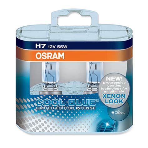 osram cool blue h7 limited edition osram h7 cool blue 64210cbl 55w 499 h7 x 2 30 light ebay