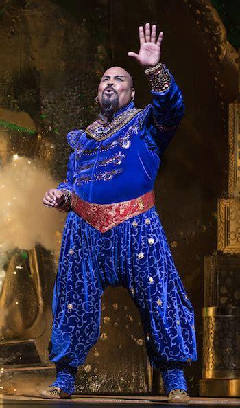 aladdin review genie works magic broadway york theater