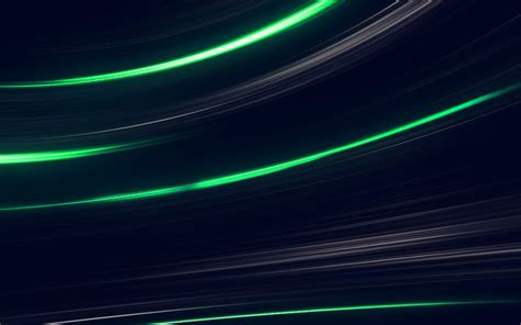 Abstract Line Wallpaper by Vo30 Curve Abstract Line Green Pattern Wallpaper