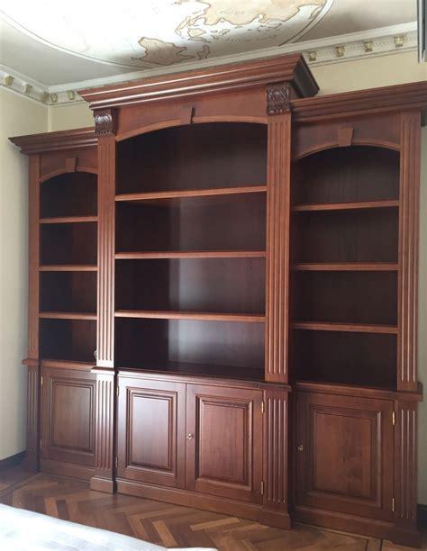 Librerie In Legno Su Misura by Librerie Su Misura