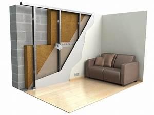 isolation thermique ecologique par linterieur ecotrabe With isolation par l interieur