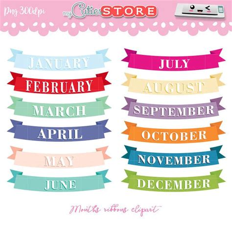 months of the year clipart 10 free Cliparts | Download ...