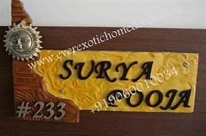 Designer Name Plates,Customized Name Plates,Name Boards