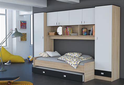 meuble chambre enfant lit pont enfant secret de chambre