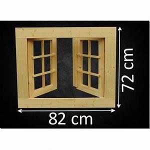Fenster Für Gartenhaus : holzfenster doppelfl gel 82 x 72 cm ~ Whattoseeinmadrid.com Haus und Dekorationen