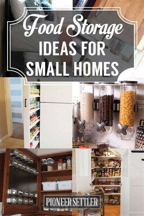 12 Food Storage Ideas For Small Homes  Total Survival