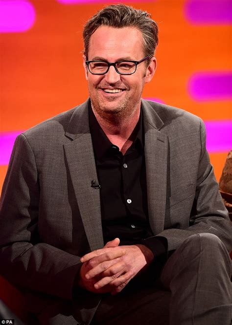 Matthew Perry shares new details about the Friends special ...