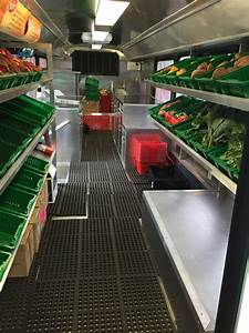 Mobile Market Delivers Fresh Fruits And Vegetables To