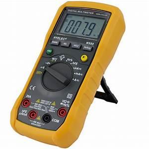 Utilisation D Un Multimètre Digital : hyelec peakmeter ms88 multim tre professionnel multim tre num rique multifonction manuel gamme ~ Gottalentnigeria.com Avis de Voitures
