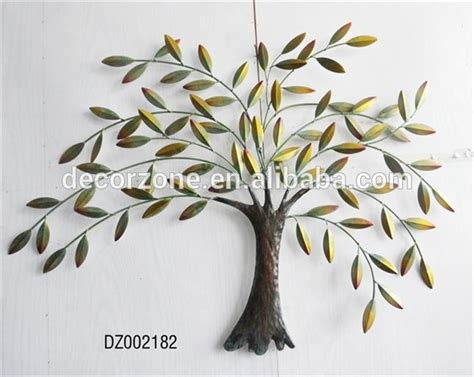 metal tree and leaf wall decor buy metal leaf wall iron tree wall trees and leaves
