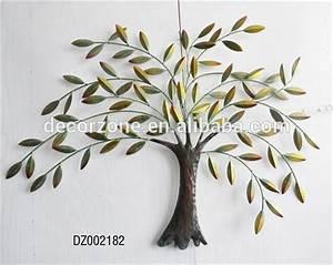 Arbre De Vie Decoration Murale : m tal arbre et feuilles d coration murale art autres d cors maison id de produit 60160178870 ~ Teatrodelosmanantiales.com Idées de Décoration