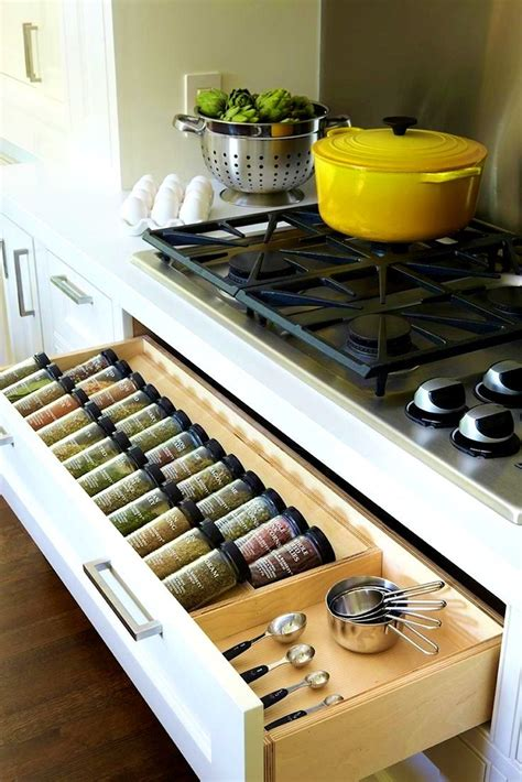 storage for spices in kitchen kitchen mesmerizing ideas about spice drawer rack 8371