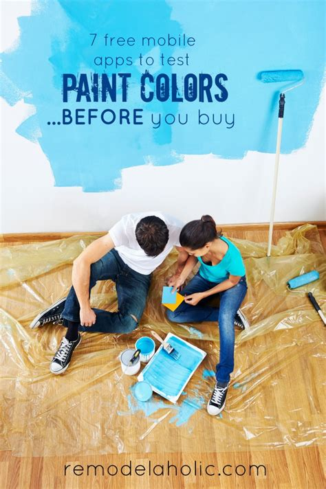 remodelaholic  diy mobile apps  test paint colors