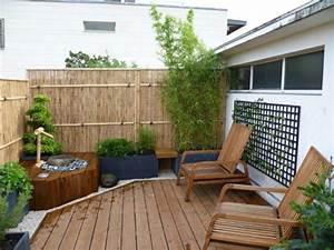 bambus sichtschutz schon und oko freundlich archzinenet With französischer balkon mit pflanzen für zen garten