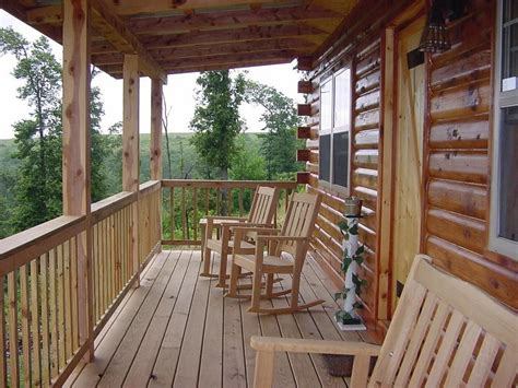 Cabin With Front Porch Lake Pinterest