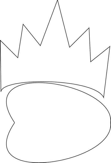 evil queen mask template   formtemplate