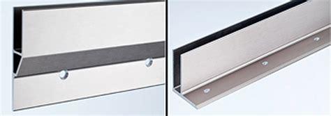 u profile für glasscheiben bodenprofile zur errichtung glasgel 228 ndern