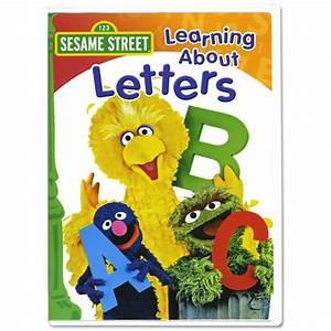 sesame street learning about letters levelings With sesame street learning about letters dvd