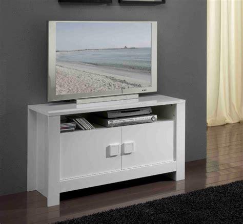 meuble tv pisa laqu 233 e blanc