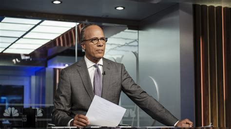 nightly news lester holt    spoke personally