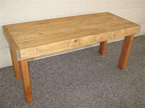 Diy Patio Bench Plans by Diy Plans To Make Flat Bench Outdoor Furniture By Wingstoshop