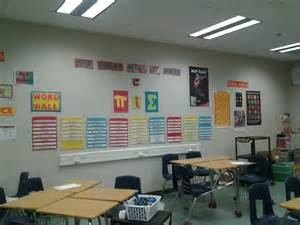 High School Math Classroom Setup