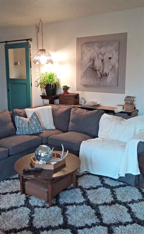 www livingroom cozy minimalist living room reveal vintage cottage
