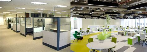 Office Space Vs The Office by Cubicles Vs Open Office Space Designs Both Office