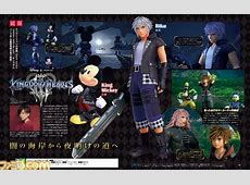 Kingdom Hearts III will be featured in Weekly Famitsu